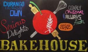 bakehouse chalkboard